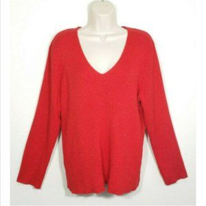 AVENUE Ribbed Sweater Sparkly Shimmer 2926E1M
